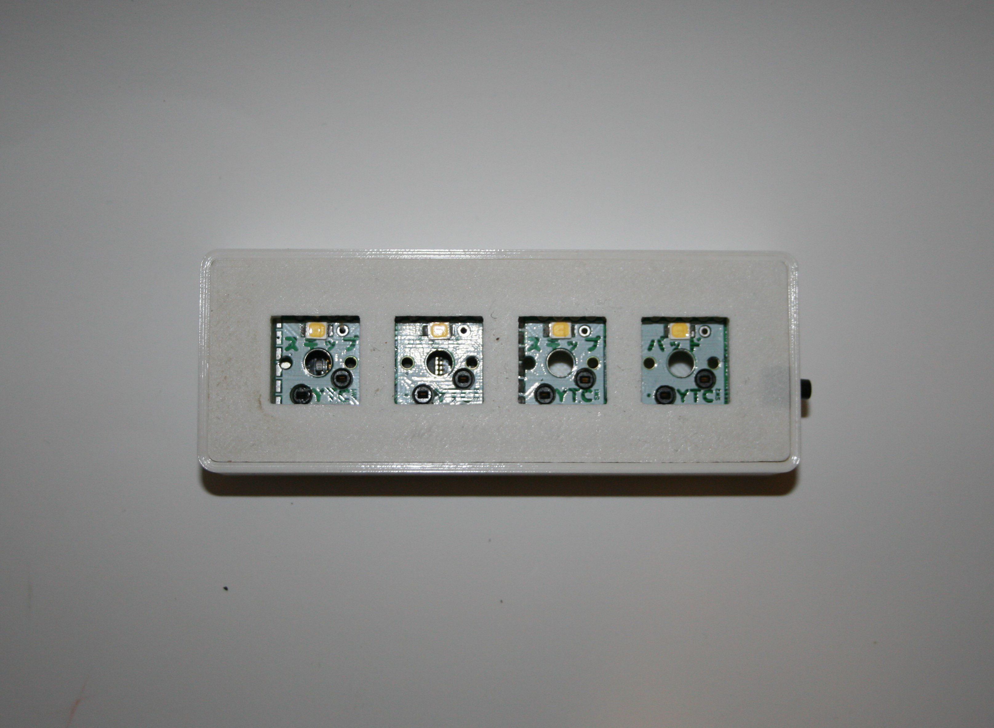 Custom osu! keypad V2